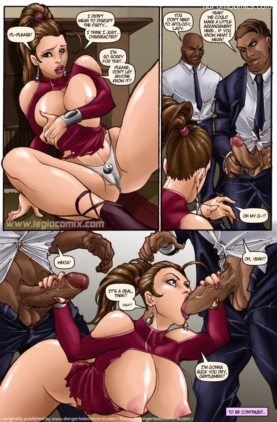 Kim Li - The Zamunda Affair6 free sex comic