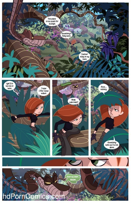 Kim Possible To coil a Spy - Porn comic27 free sex comic