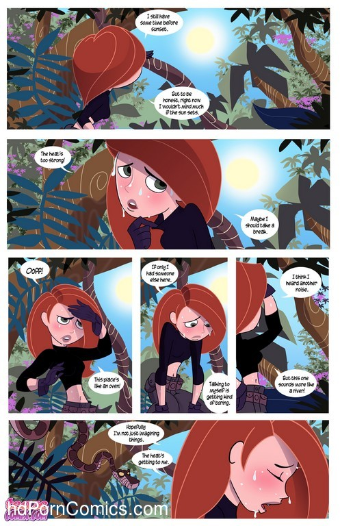 Kim Possible To coil a Spy - Porn comic28 free sex comic