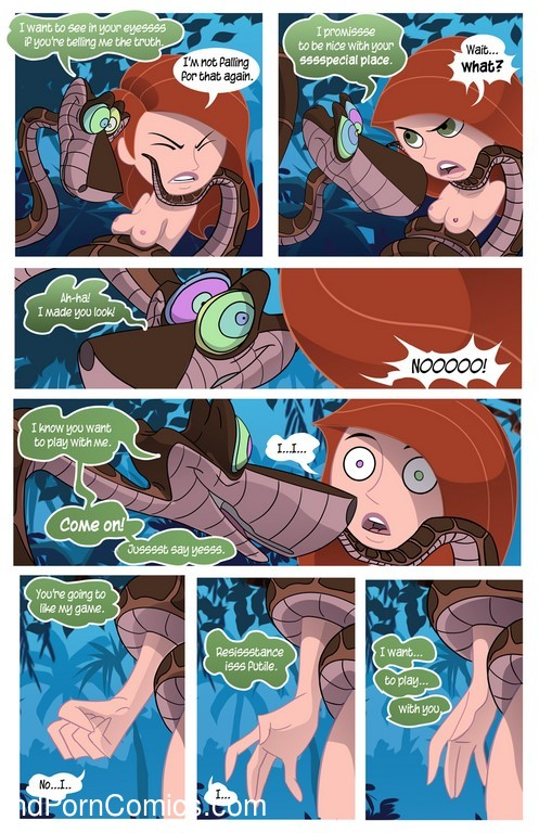 Kim Possible To coil a Spy - Porn comic8 free sex comic