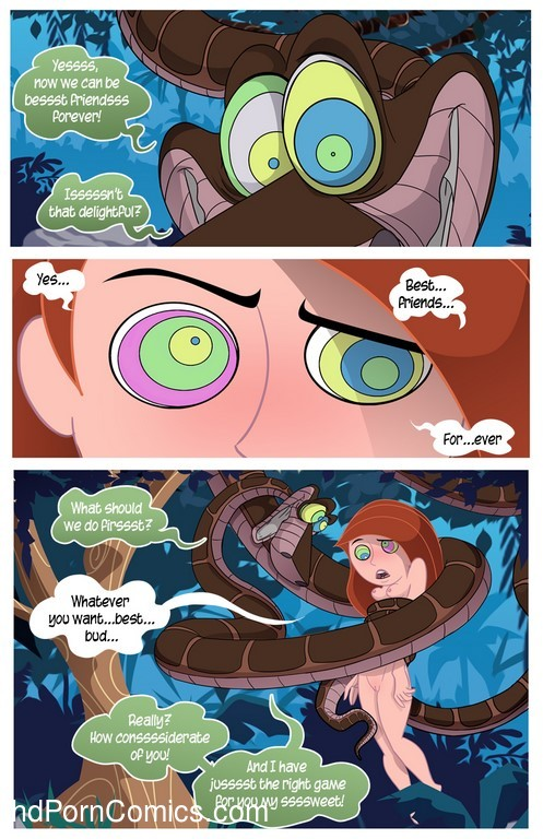 Kim Possible To coil a Spy - Porn comic9 free sex comic