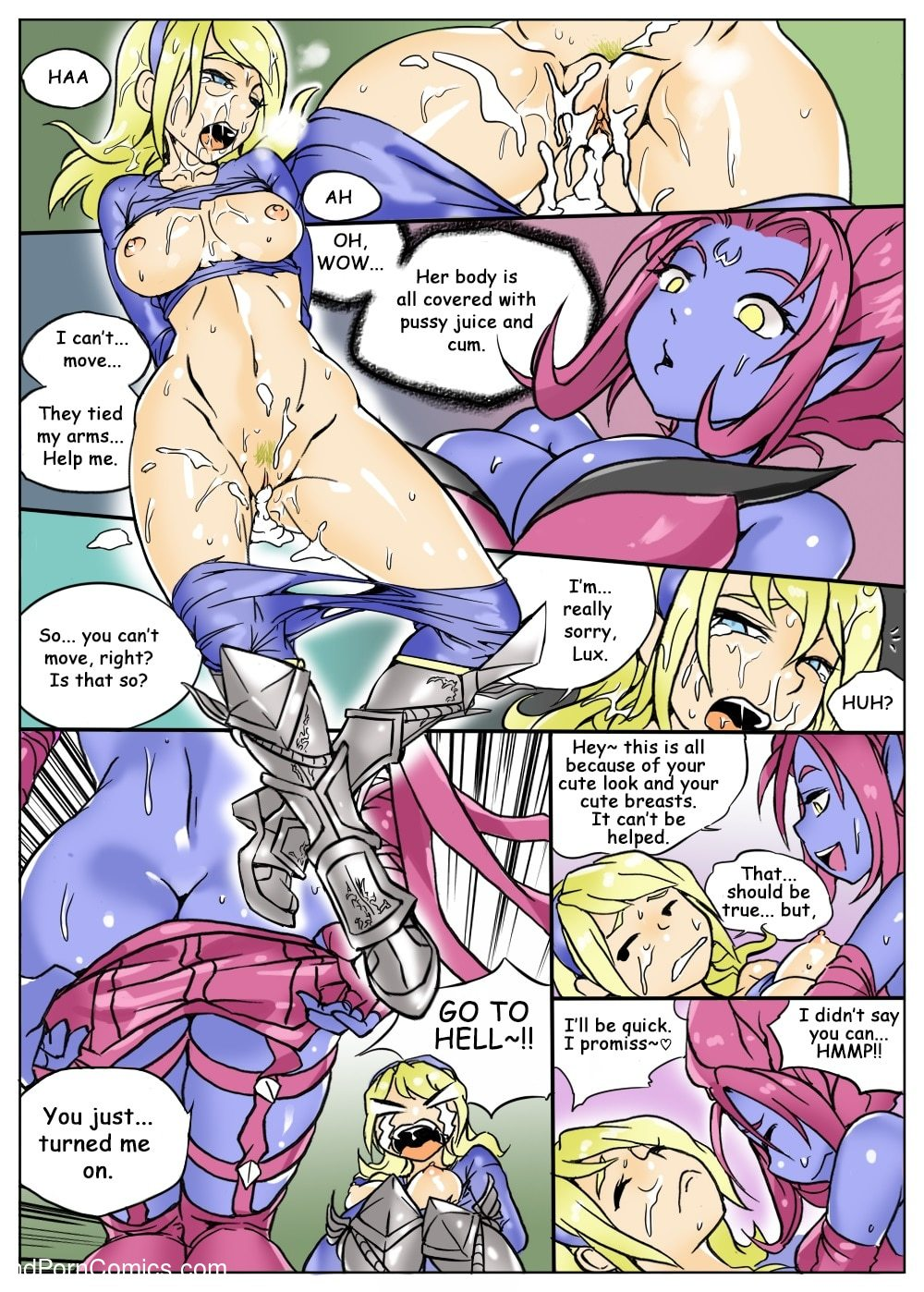 Kimmundo- Lux gets Ganked16 free sex comic
