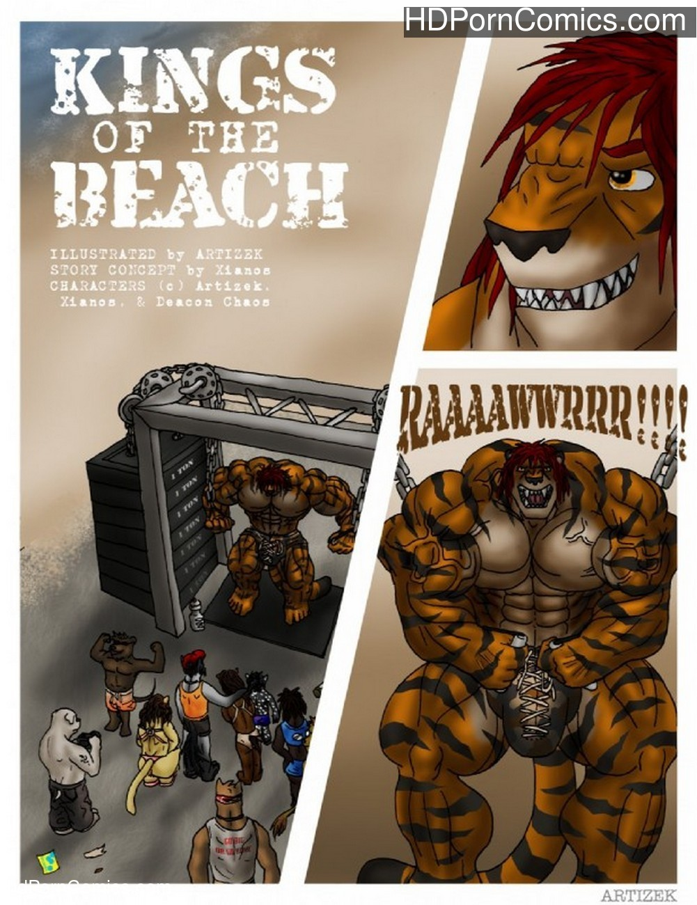 Kings Of The Beach Sex Comic
