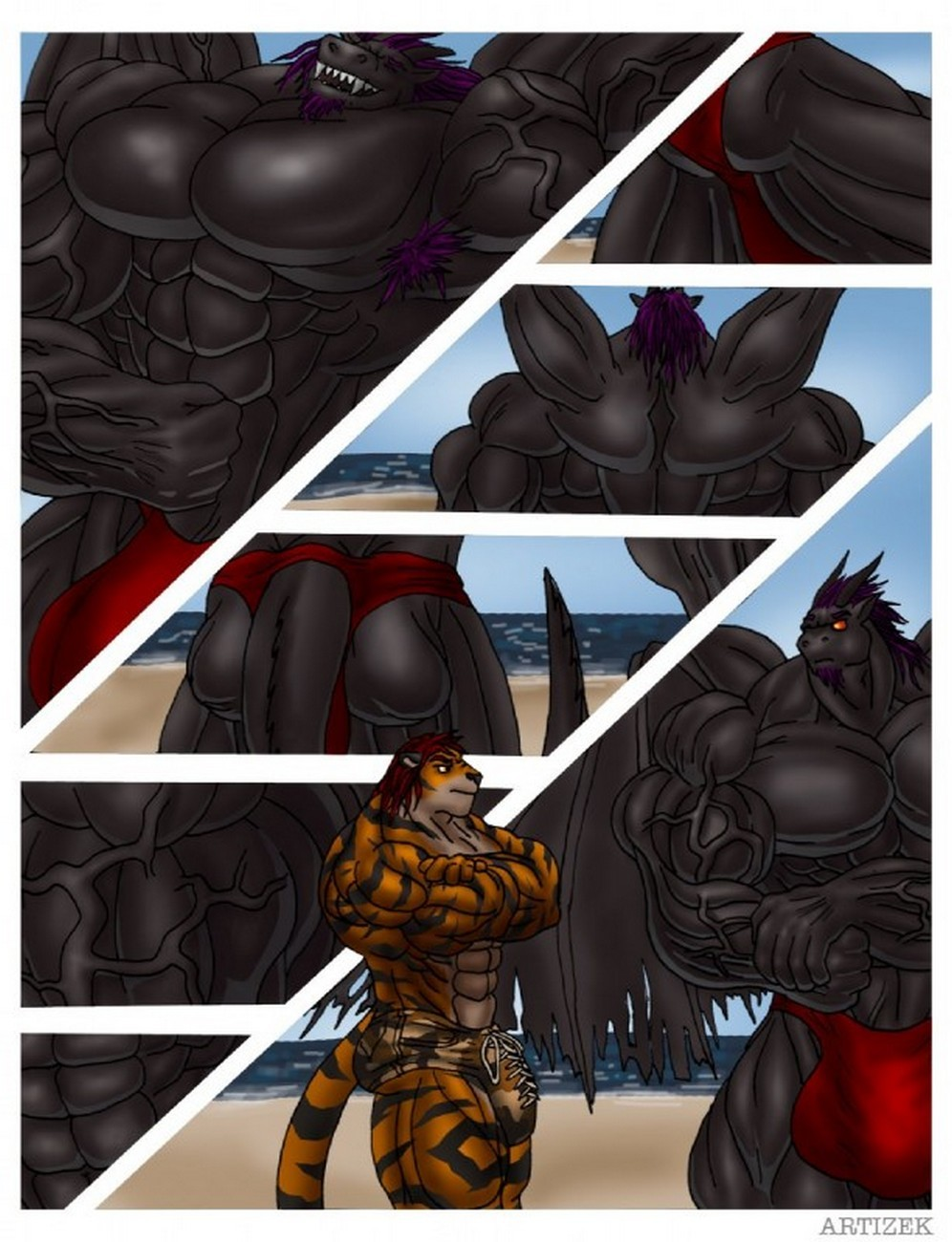 Kings Of The Beach 3 free sex comic