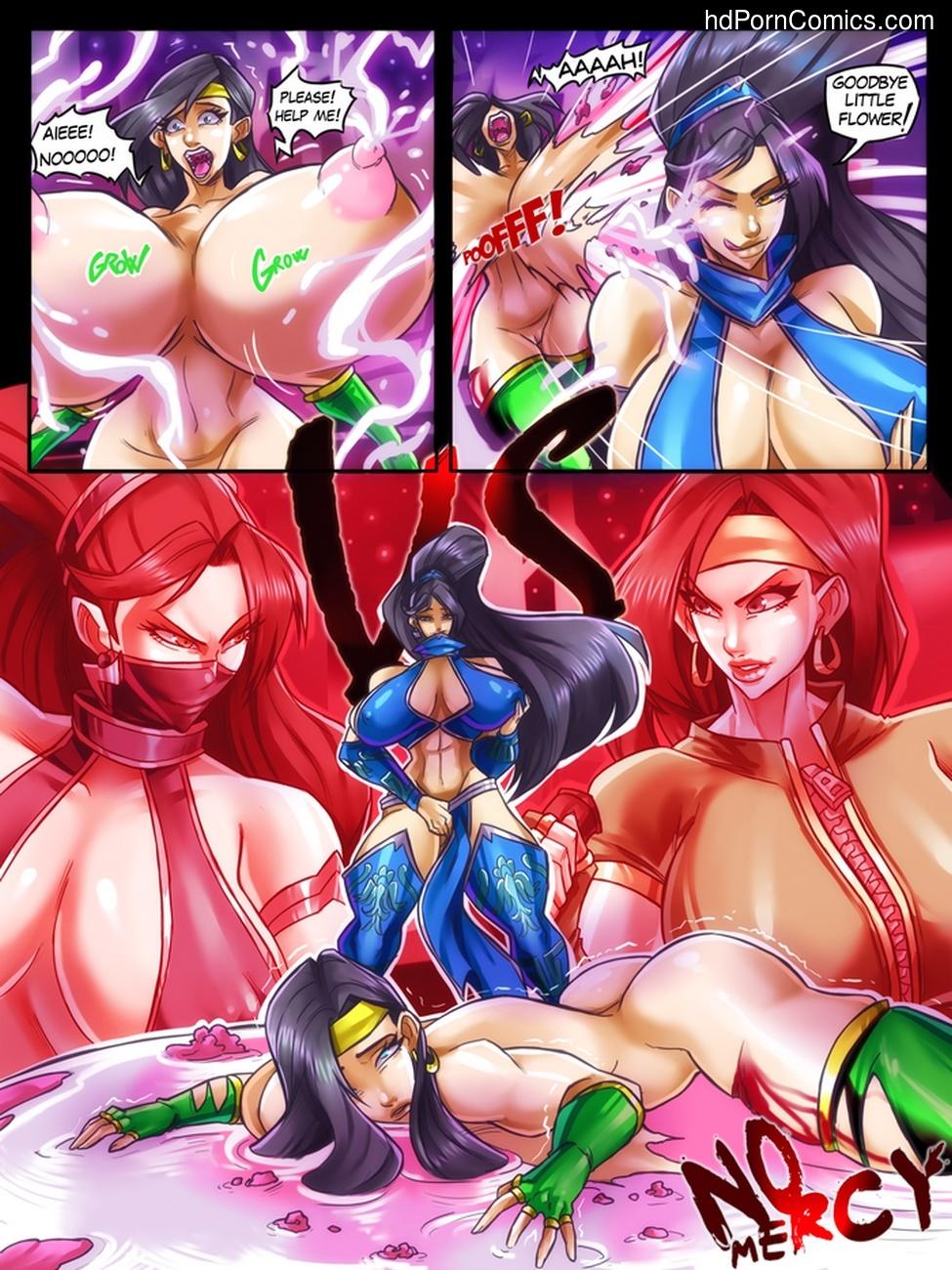 Kitana Death Kiss Sex Comic