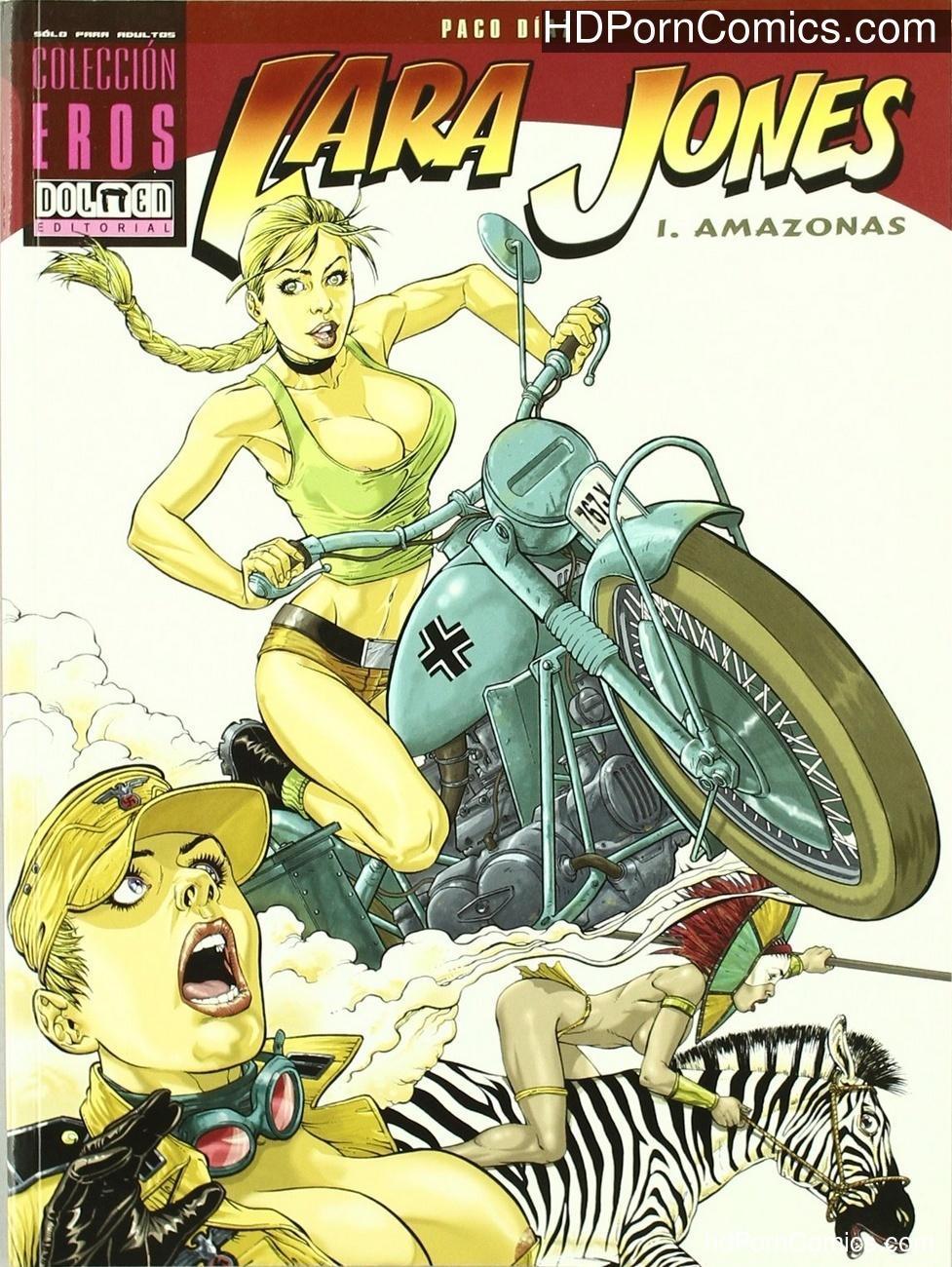 Lara Jones 1 – The Amazons Sex Comic