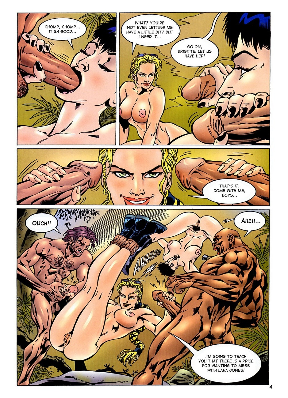 Lara jones comics sex