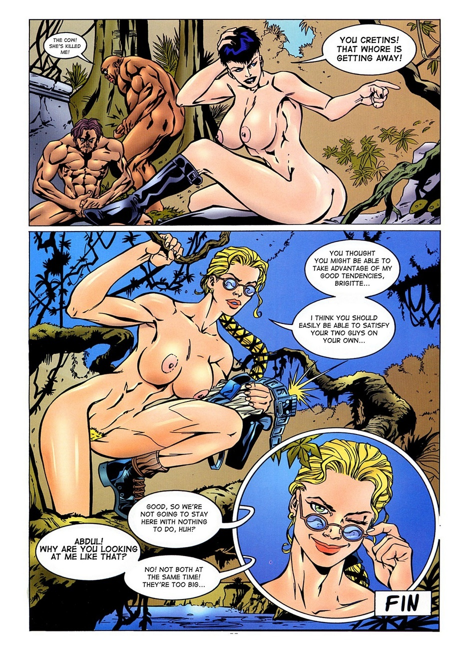 Lara Jones – The Final Penetration Sex Comic