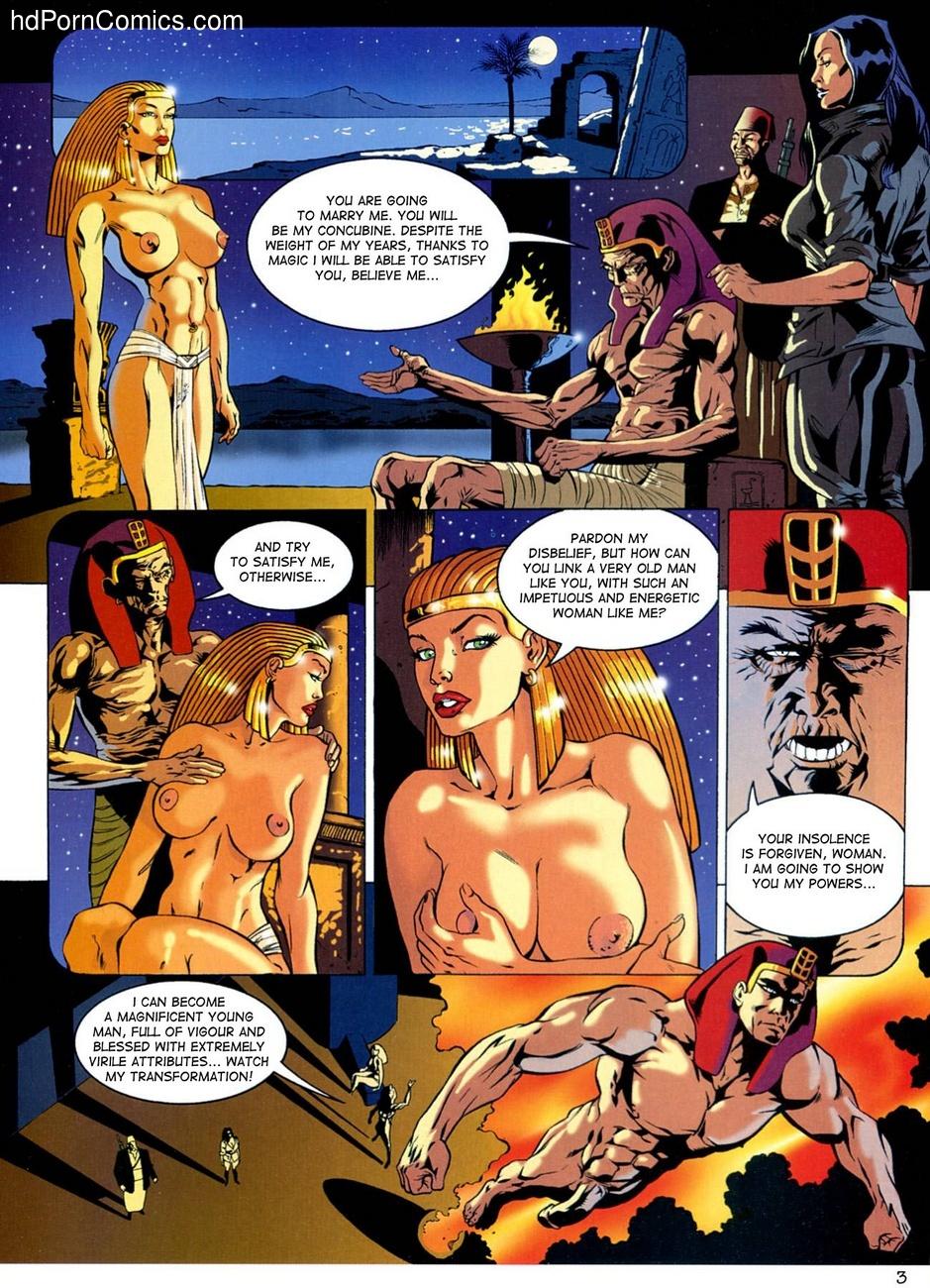 Lara Jones - The Treasure Of Osiris 4 free sex comic