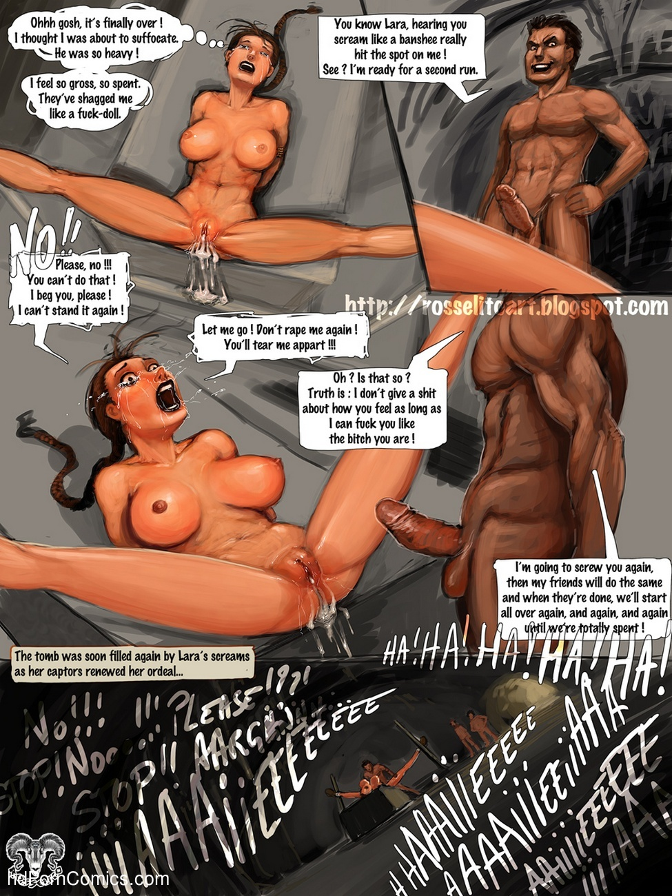 Bound comic hentai