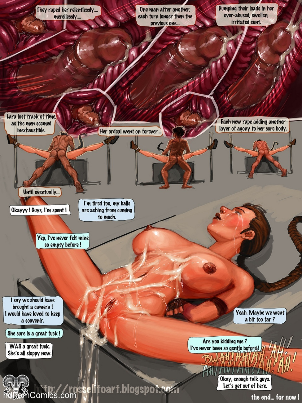 Lara Raped In Tomb Sex Comic