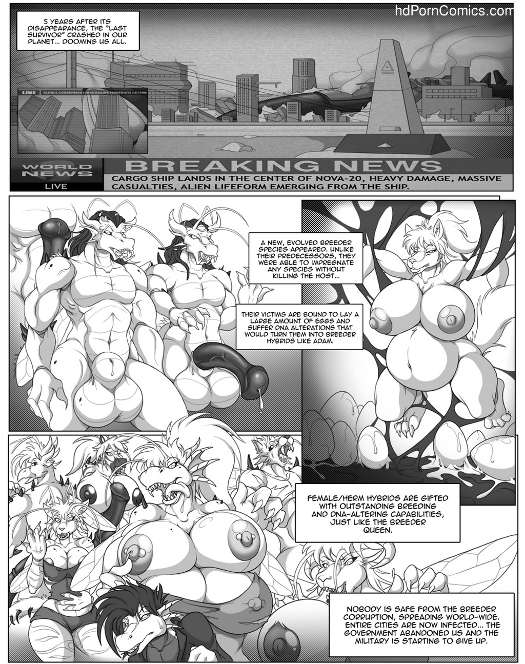 Last Survivor 2 24 free sex comic