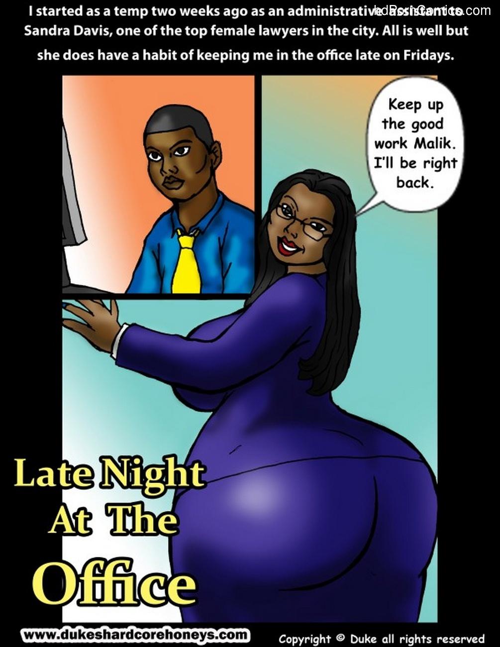 Comics office porn Sex in