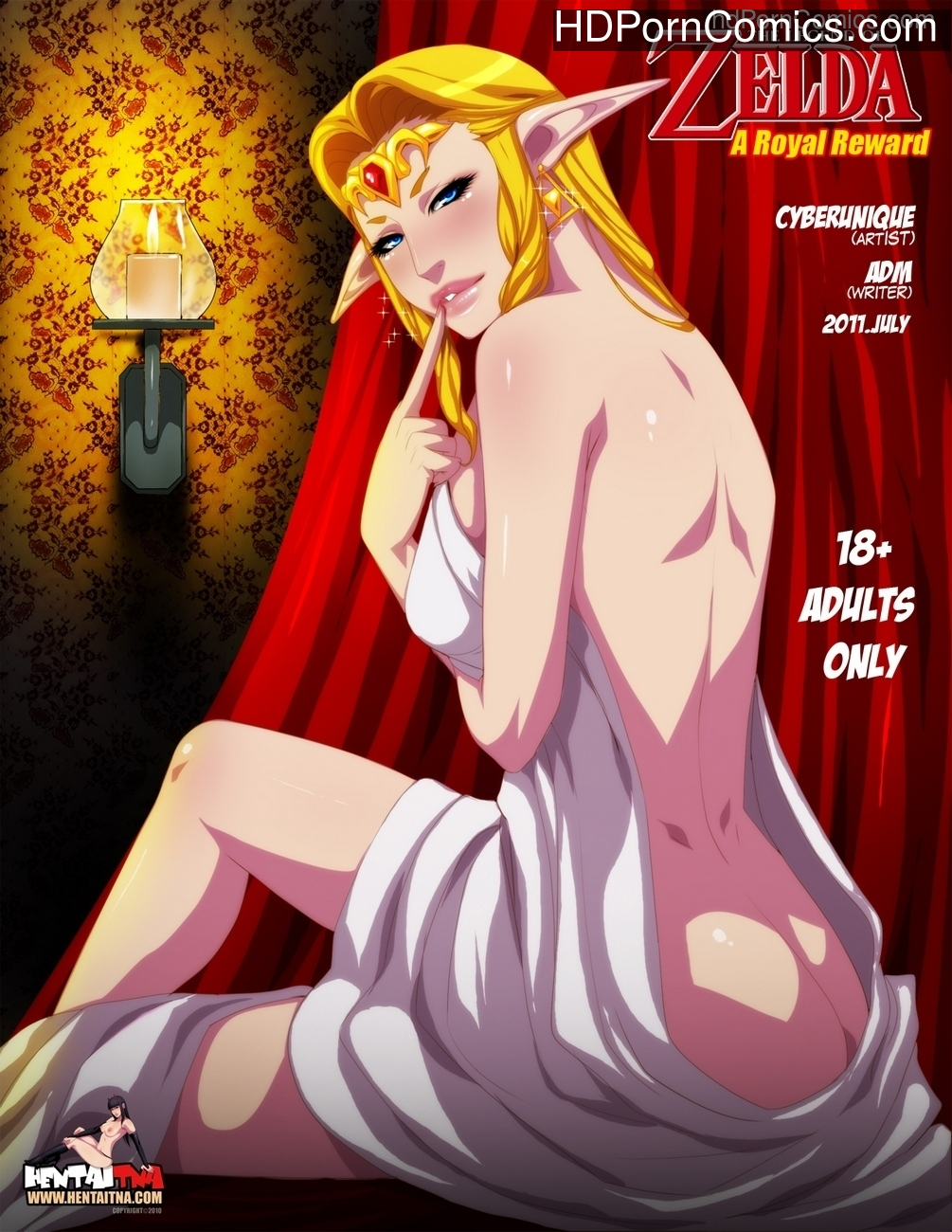 Legend Of Zelda – A Royal Reward Sex Comic