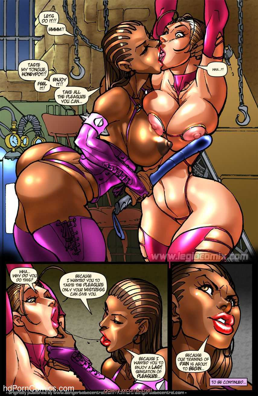 Legio girl in trouble free Porn Comic