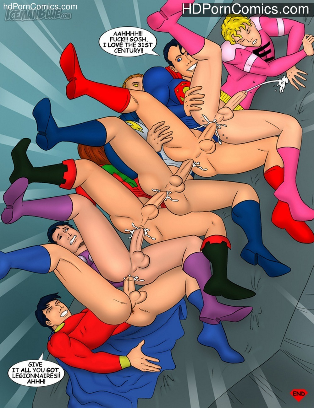 Legion Of Super-Heroes Sex Comic