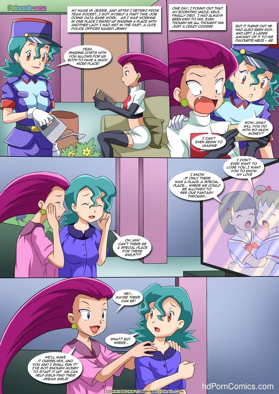 Lesbian Fantasy Island 1 2 free sex comic