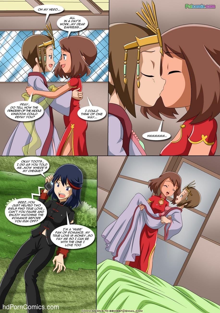 Lesbian Fantasy Island 2 6 free sex comic