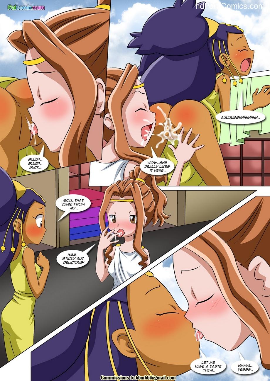 Lesbian Fantasy Island 3 7 free sex comic