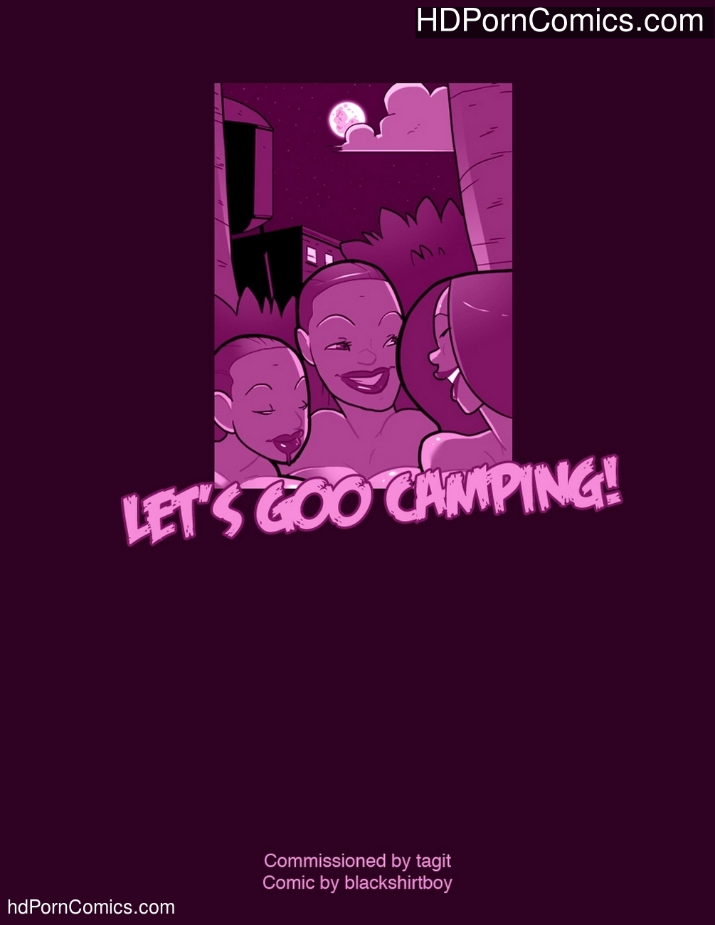 Let's Goo Camping! Sex Comic