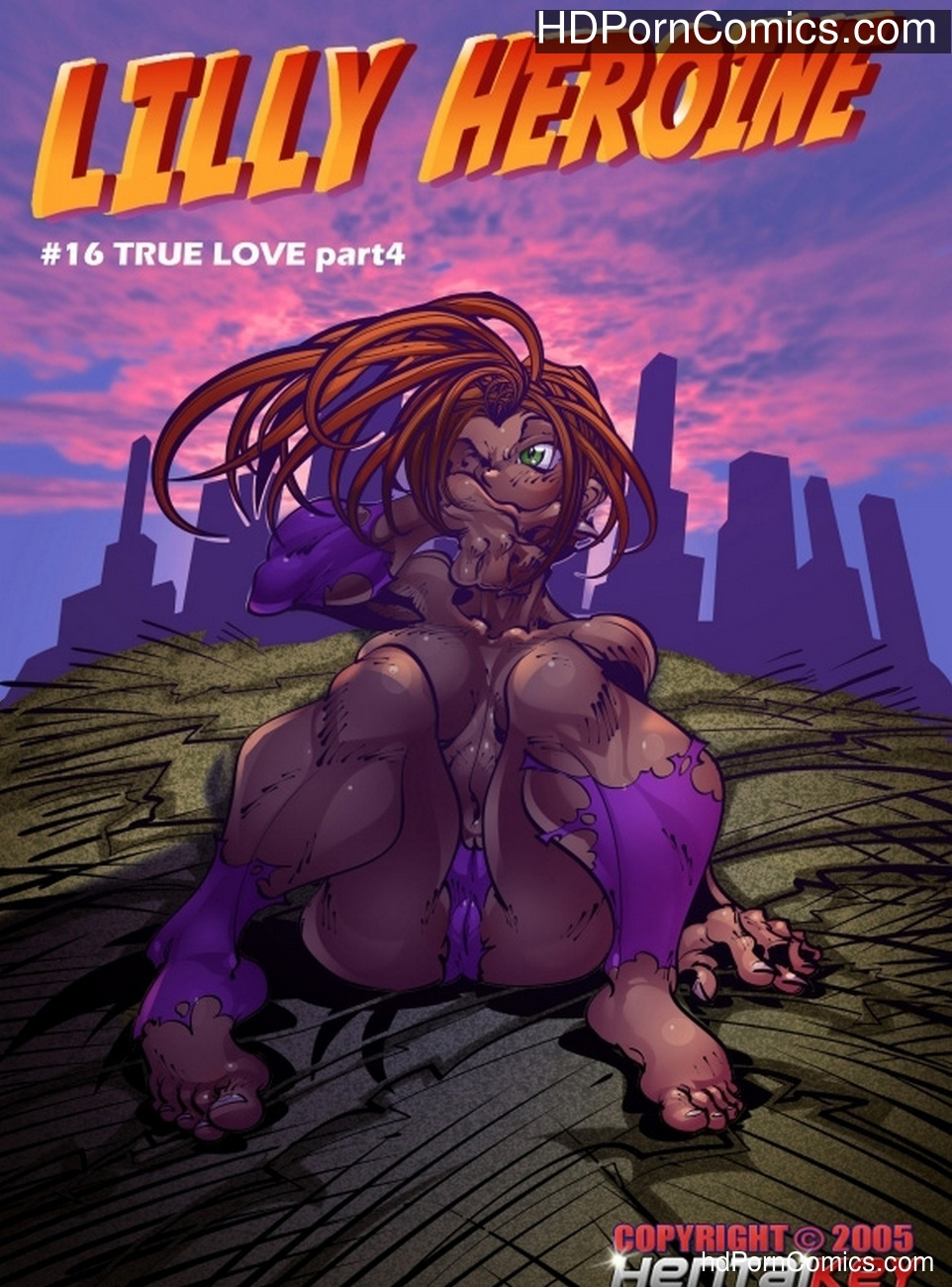 Lilly Heroine 16 – True Love 4 Sex Comic