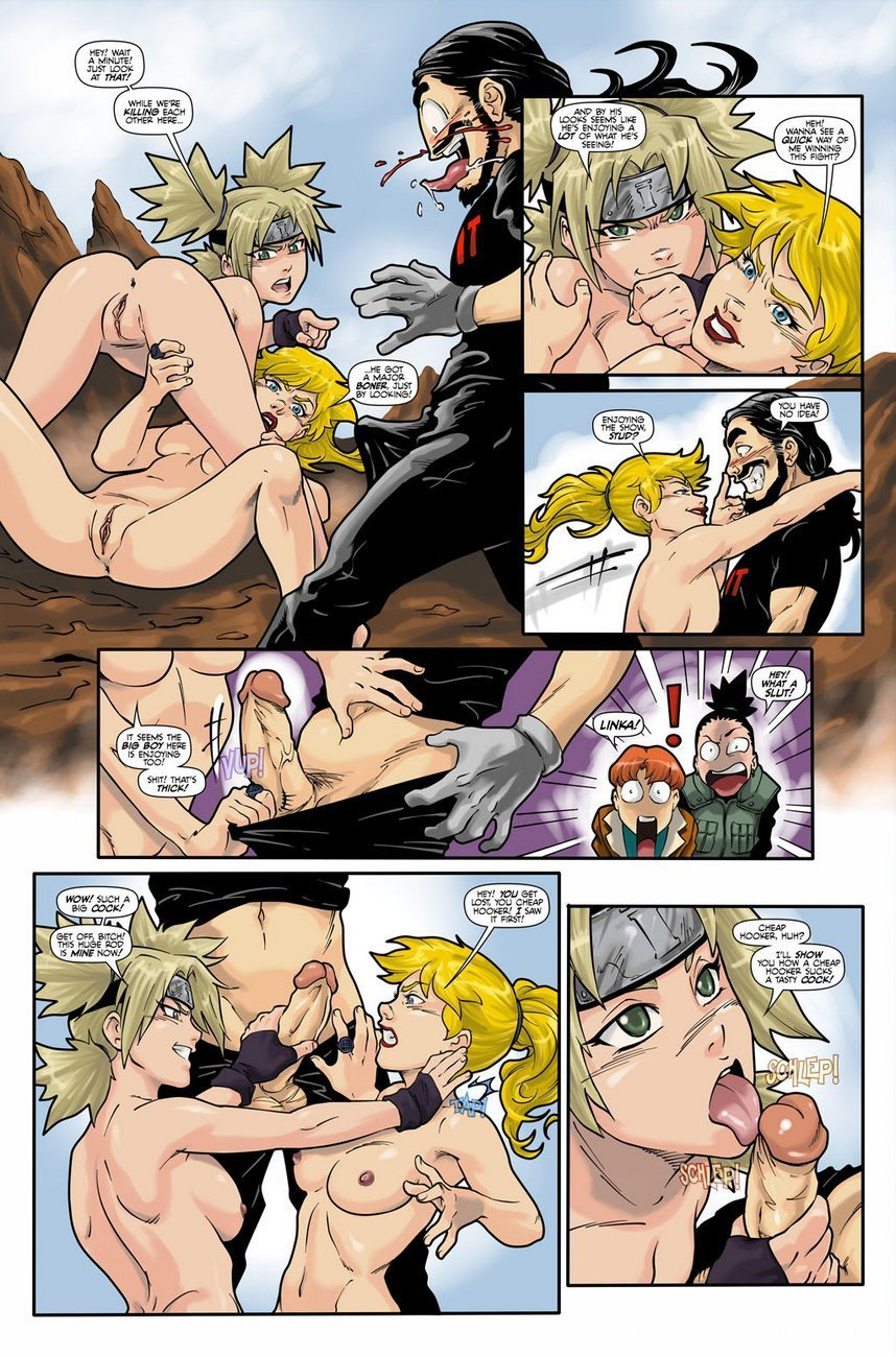 Hot Duels 1 - Linka VS Temari 3 free sex comic