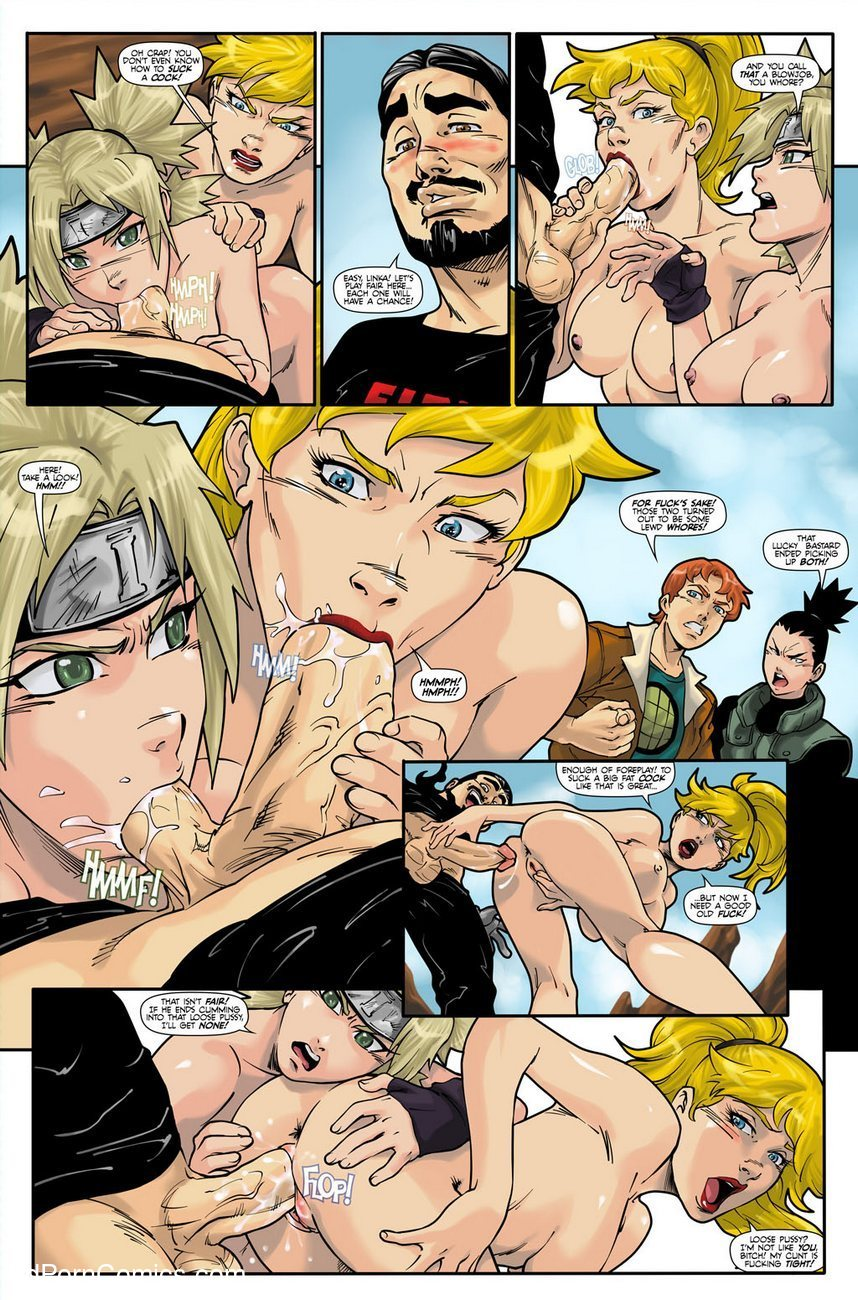 Hot Duels 1 - Linka VS Temari 4 free sex comic