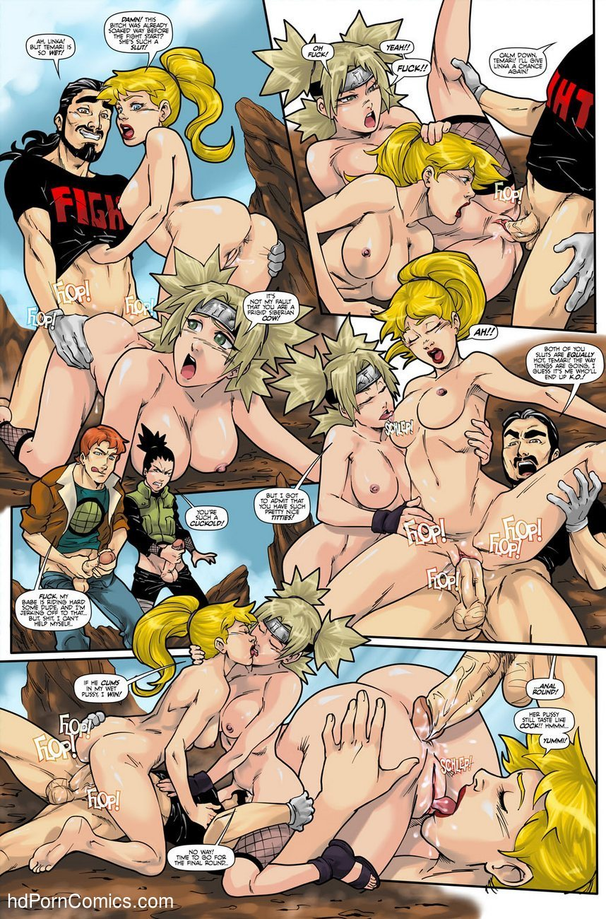 Hot Duels 1 - Linka VS Temari 5 free sex comic