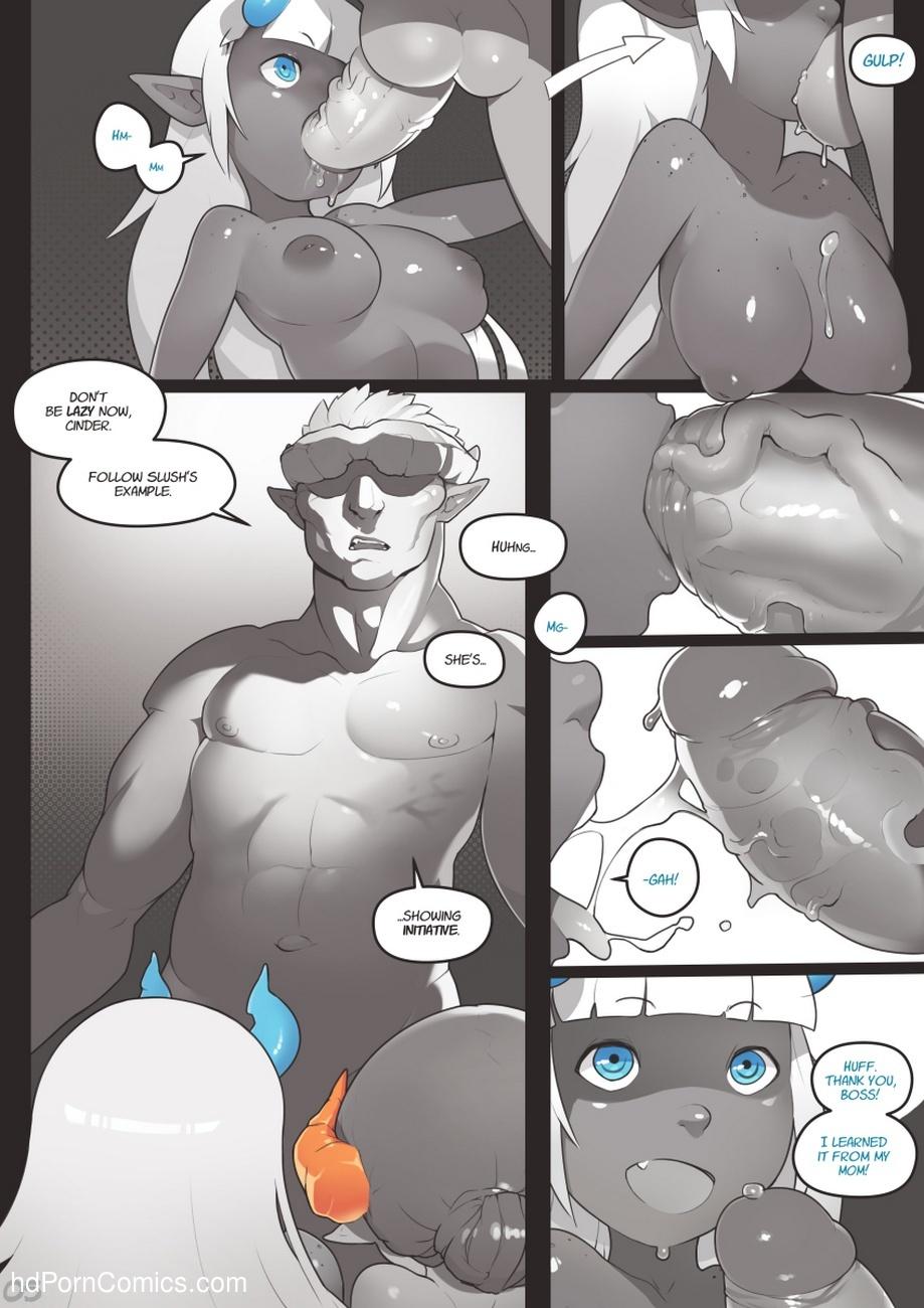 Locking Horns 5 free sex comic
