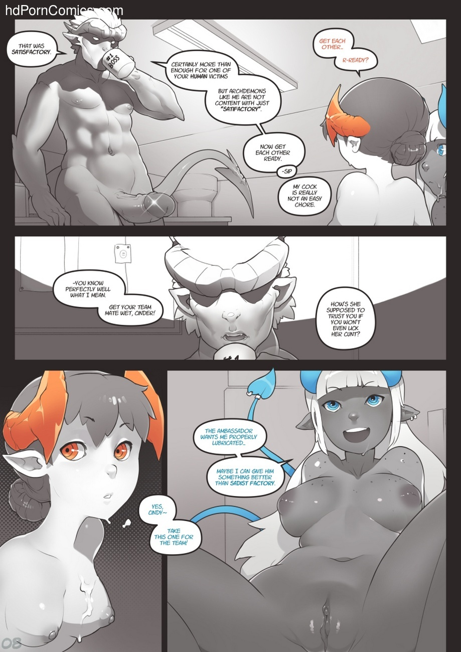 Locking Horns 8 free sex comic