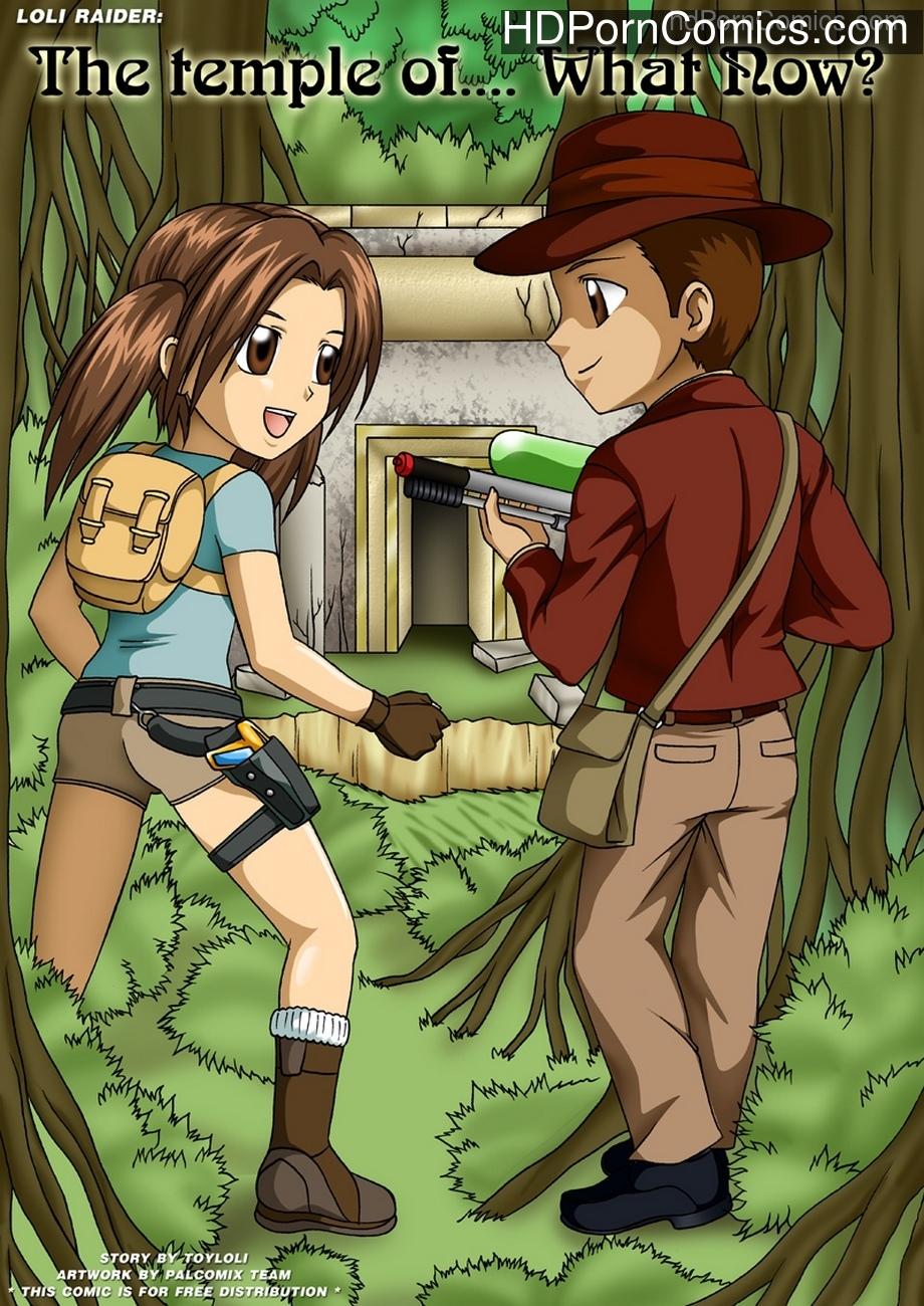 Loli Raider – The Temple Of Sex Comic