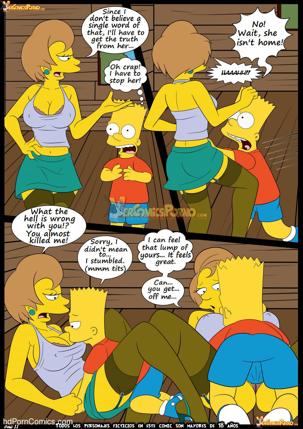 Los Simpsons 5- New Lessons12 free sex comic