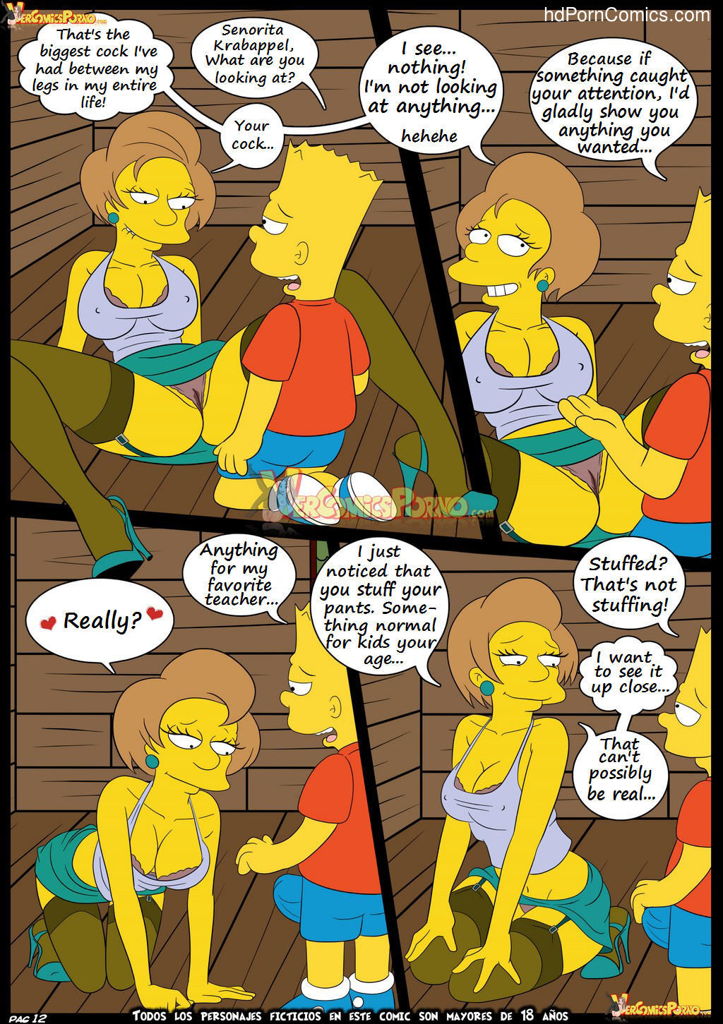Los Simpsons 5- New Lessons13 free sex comic