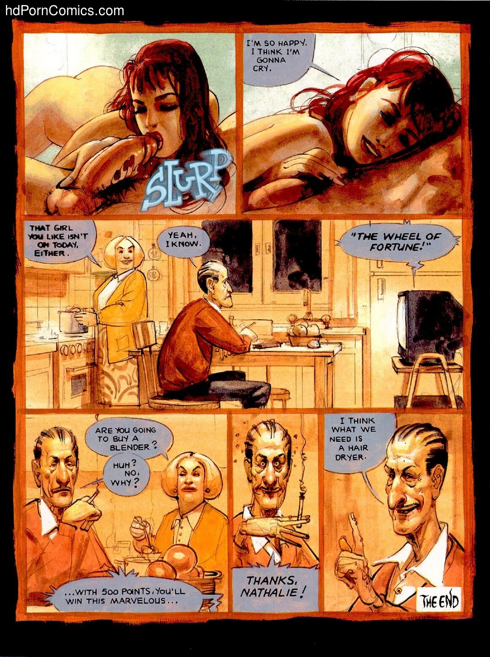 Love Be A Lady Tonight Sex Comic
