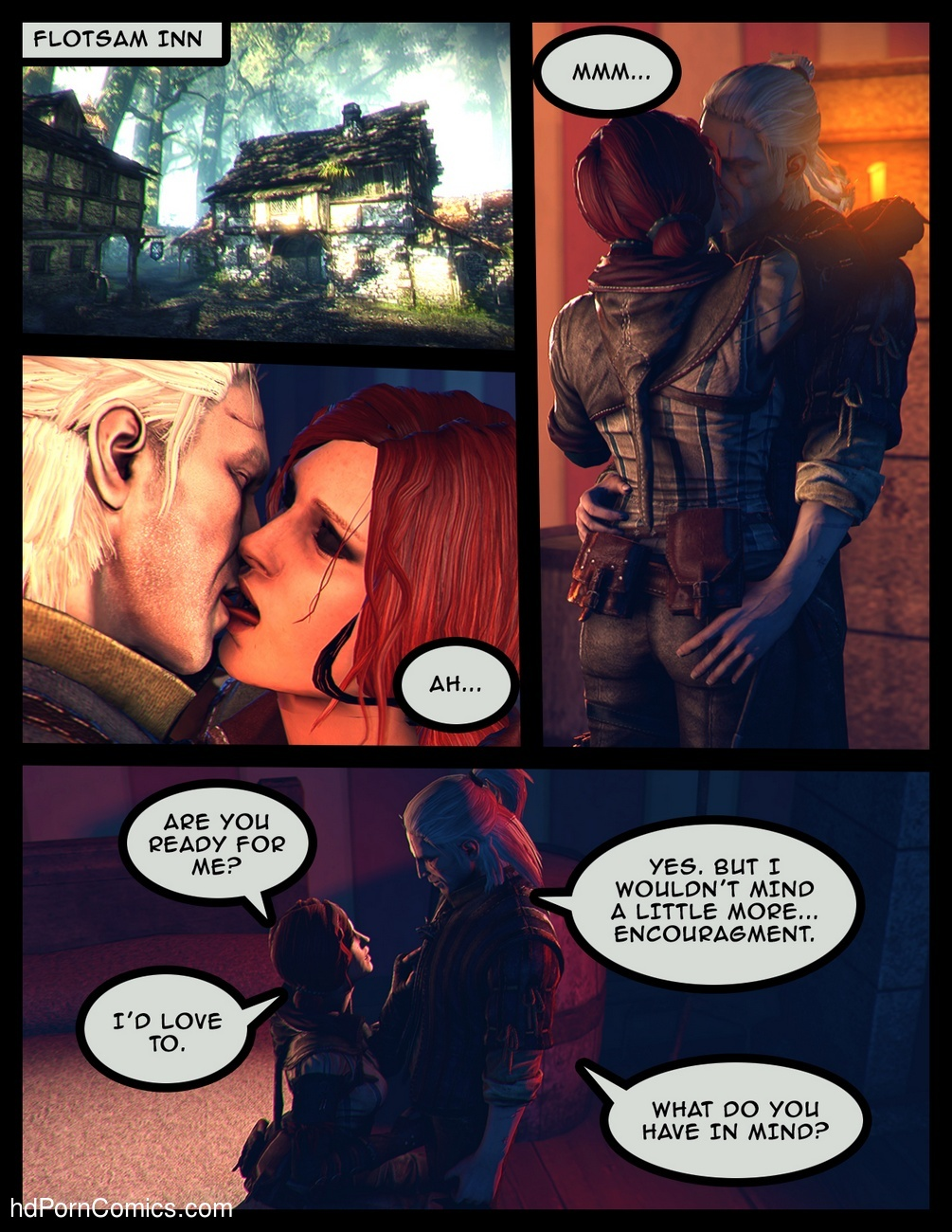 Love In War 2 free sex comic