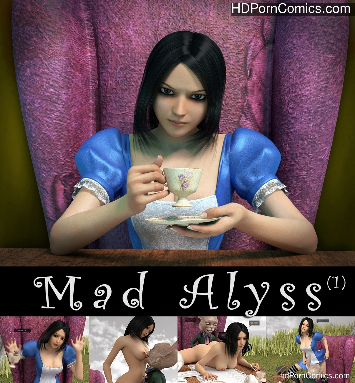 Mad Alyss 1 Sex Comic