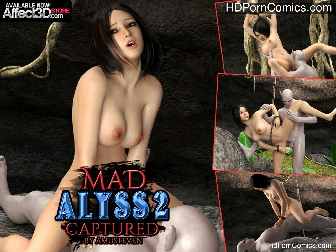 Mad Alyss 2 – Captured Sex Comic