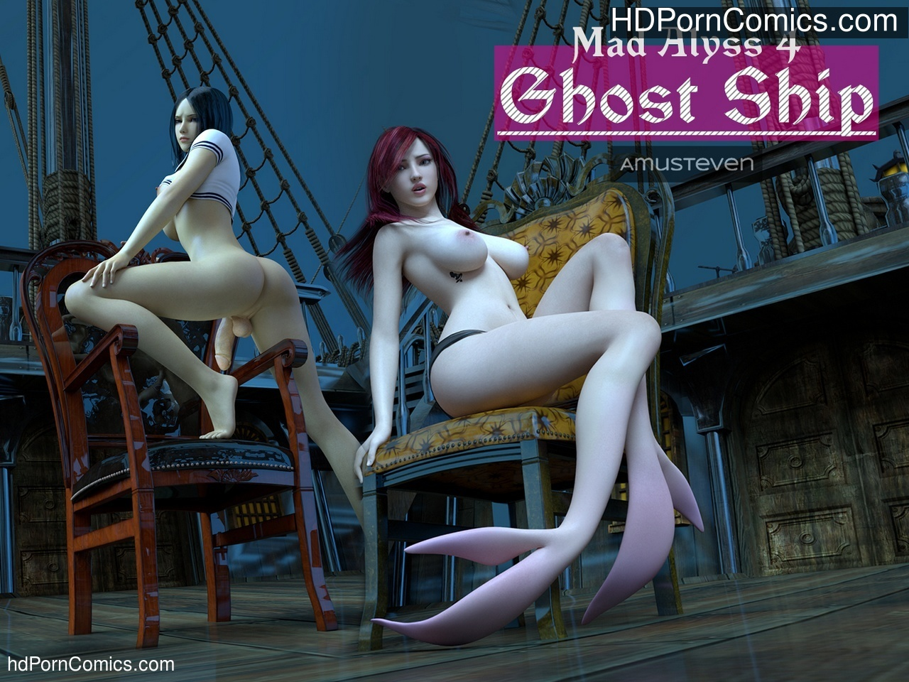 Mad Alyss 4 – Ghost Ship Sex Comic