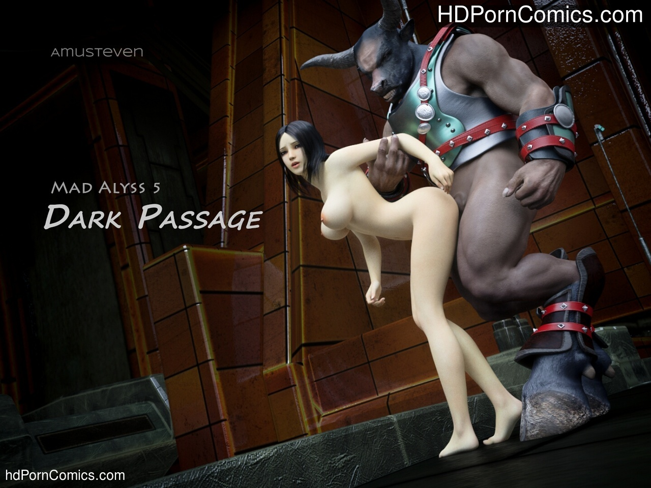 Mad Alyss 5 – Dark Passage Sex Comic