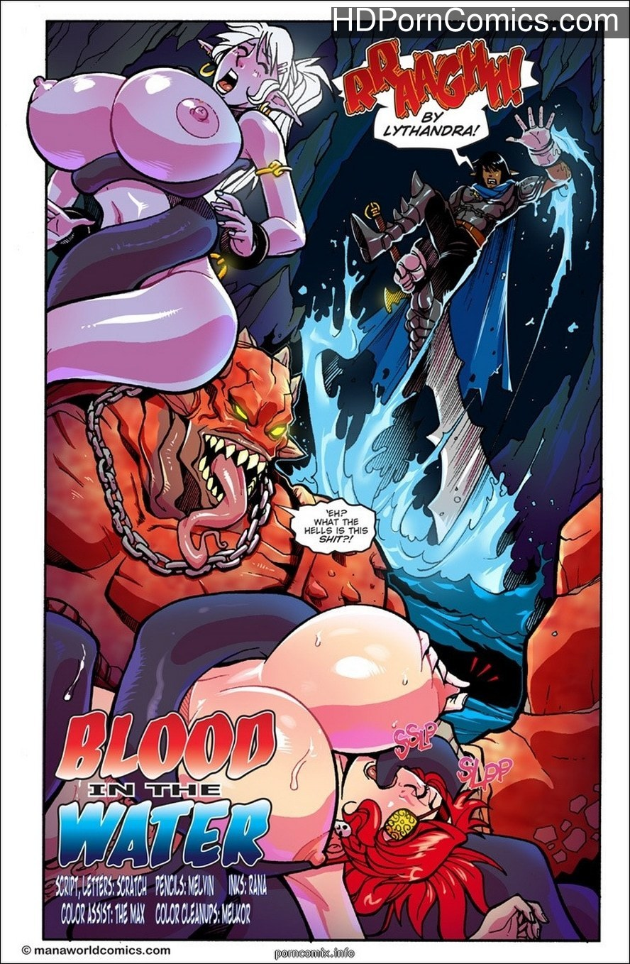 Mana World -Blood in the Water1 free sex comic