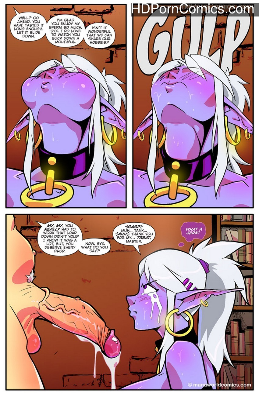 Mana World 3 – The Royal Treatment Sex Comic