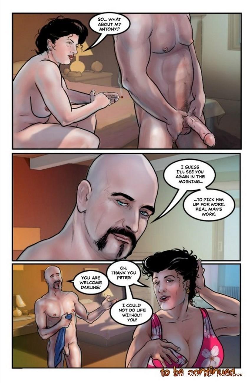 Manson 1 Sex Comic