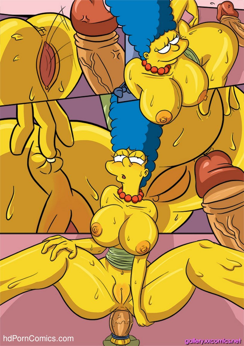 Simpsons porn marge