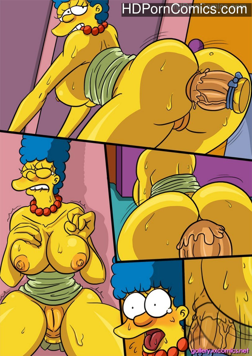 Marge Simpson in Valentine Hole11 free sex comic