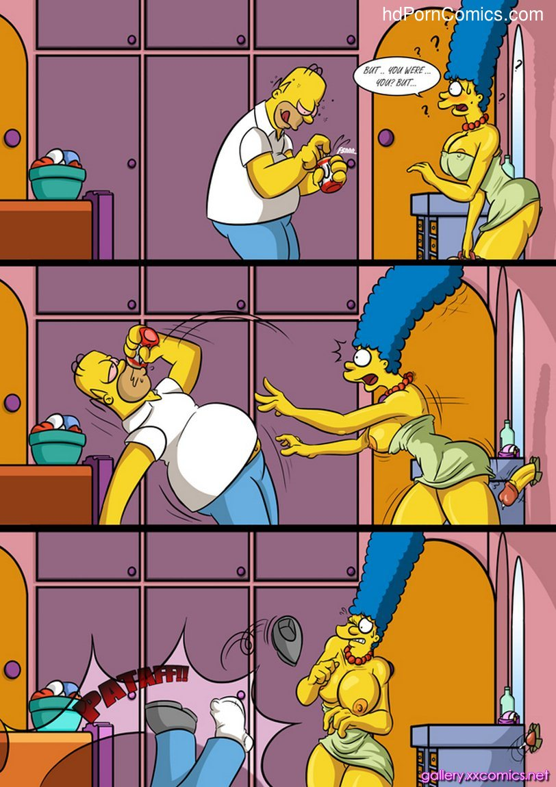 Marge Simpson in Valentine Hole15 free sex comic