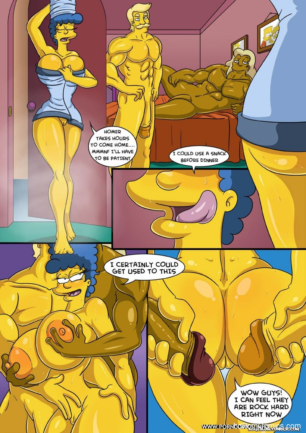 Marge- Erotic Fantasies12 free sex comic