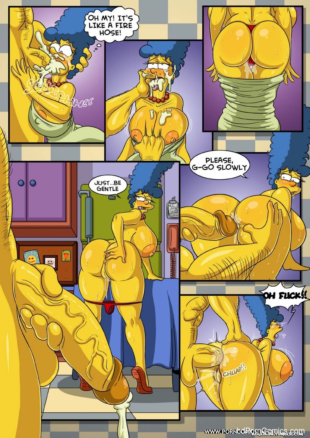 Marge- Erotic Fantasies4 free sex comic