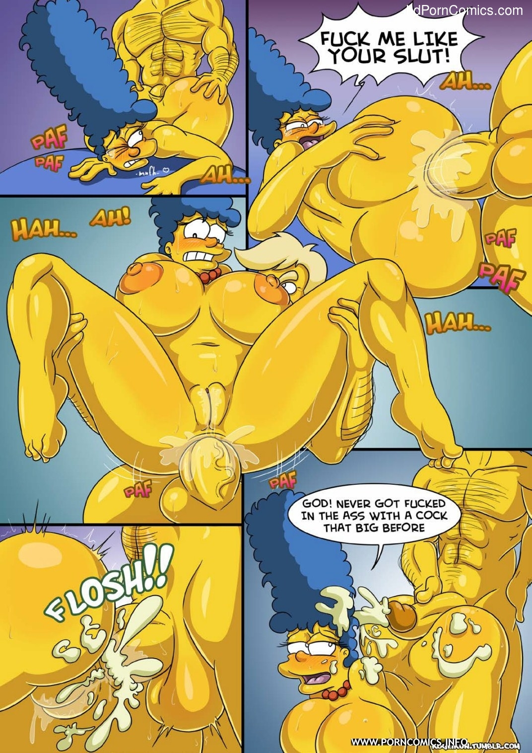 Marge- Erotic Fantasies5 free sex comic