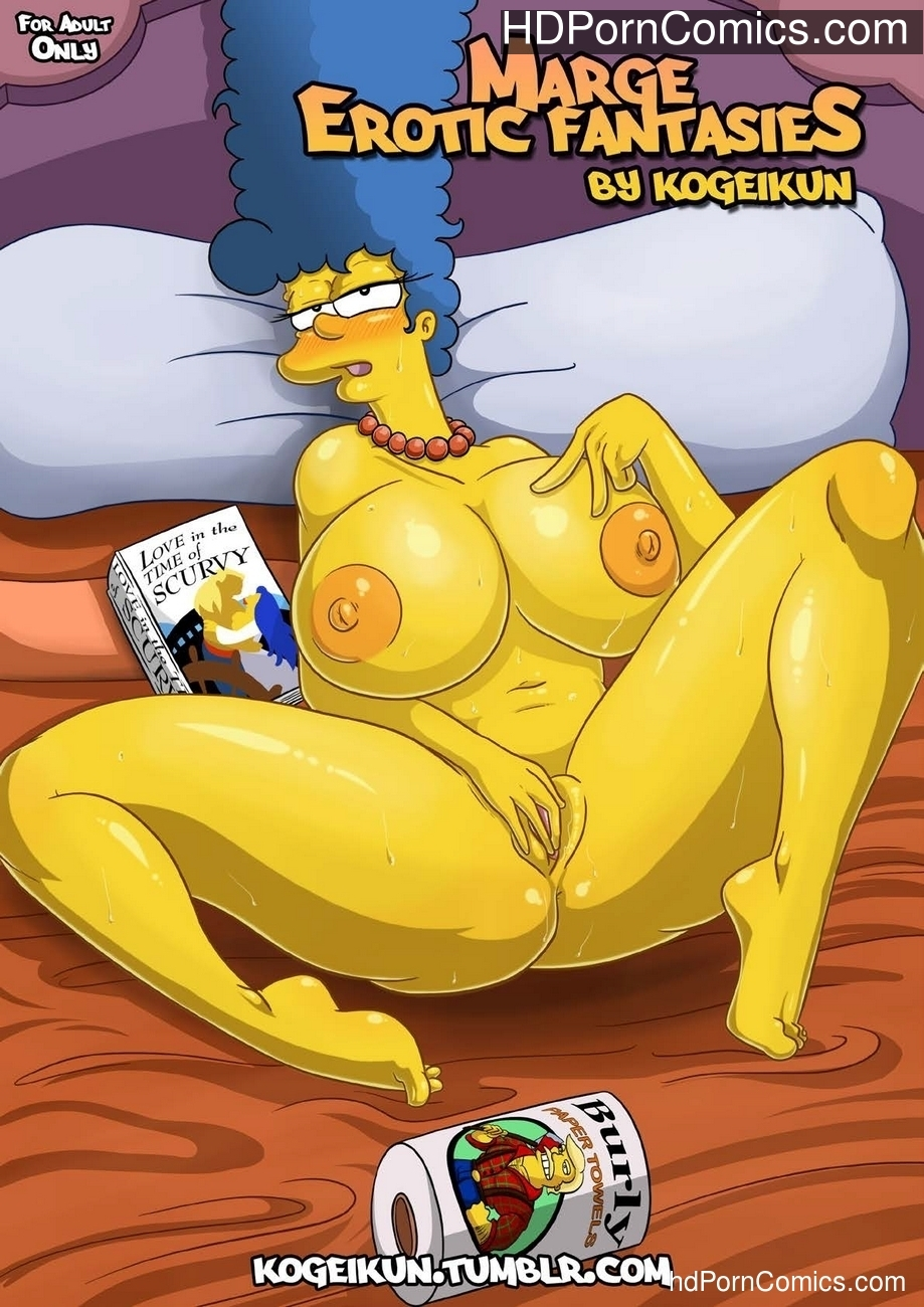 Marge's Erotic Fantasies Sex Comic