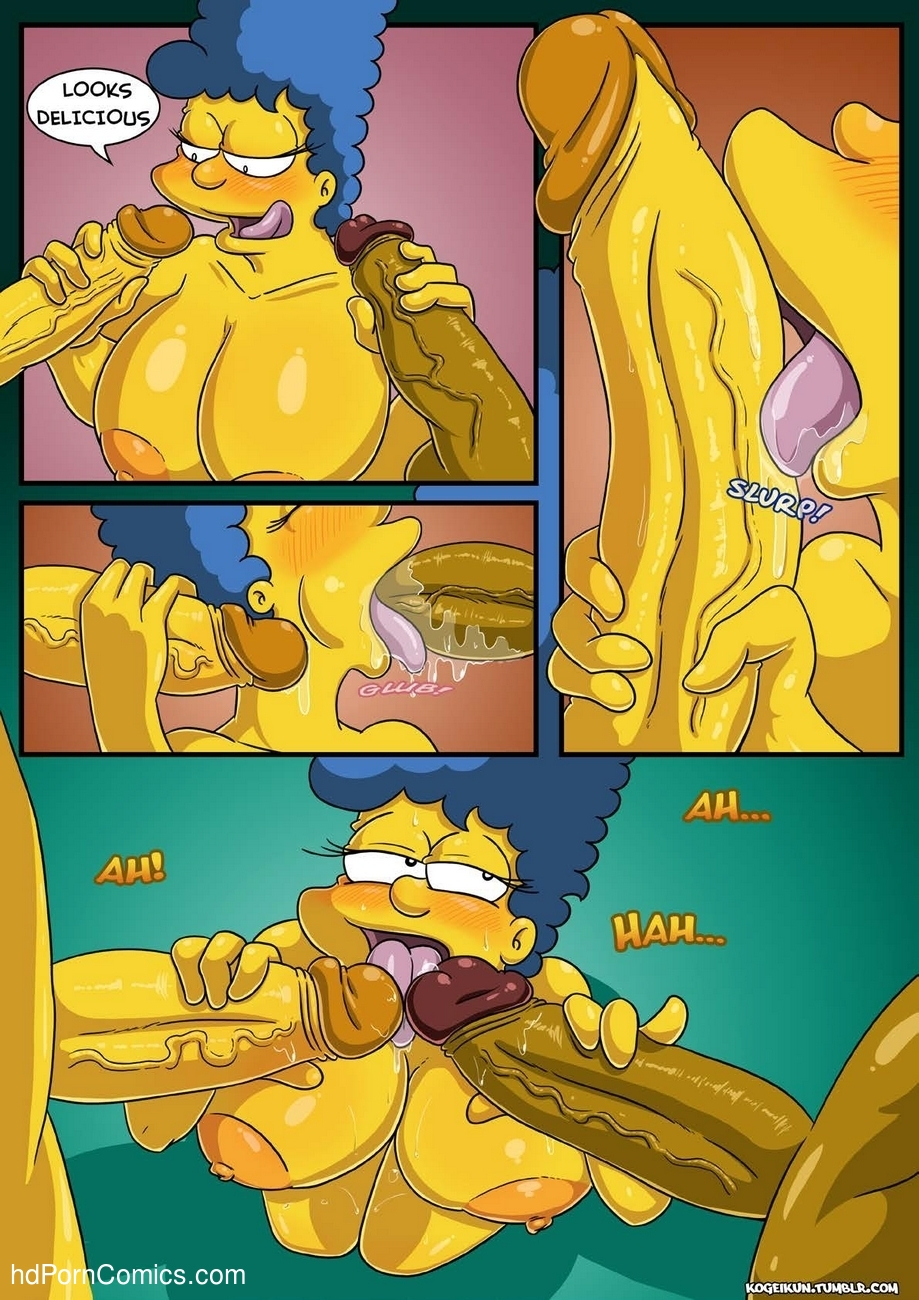 Marge's Erotic Fantasies 13 free sex comic